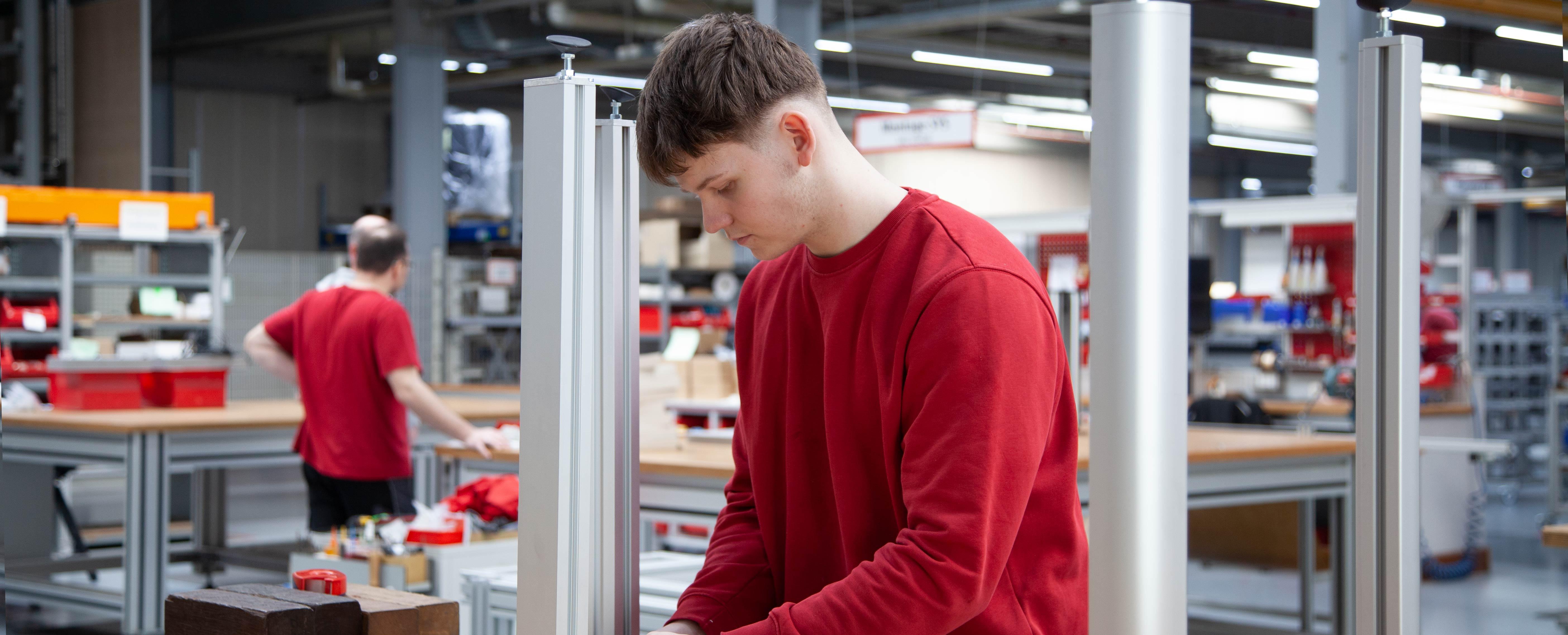 Ausbildung Industriemechaniker bei RK-AHT in Bienenbüttel