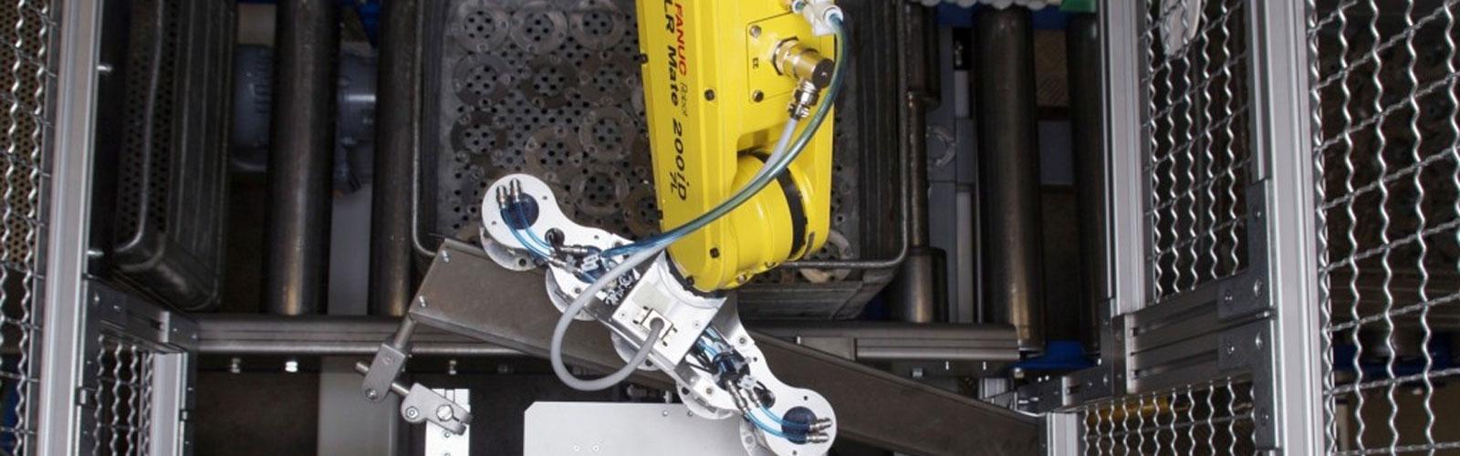 Robot technology (robotics) and automation