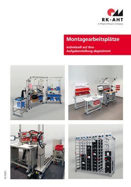 Übersicht Montagearbeitsplatzsysteme