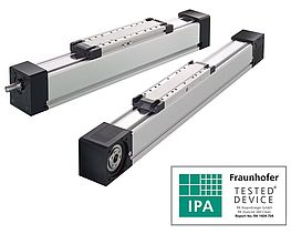 Linear actuators for clean room use